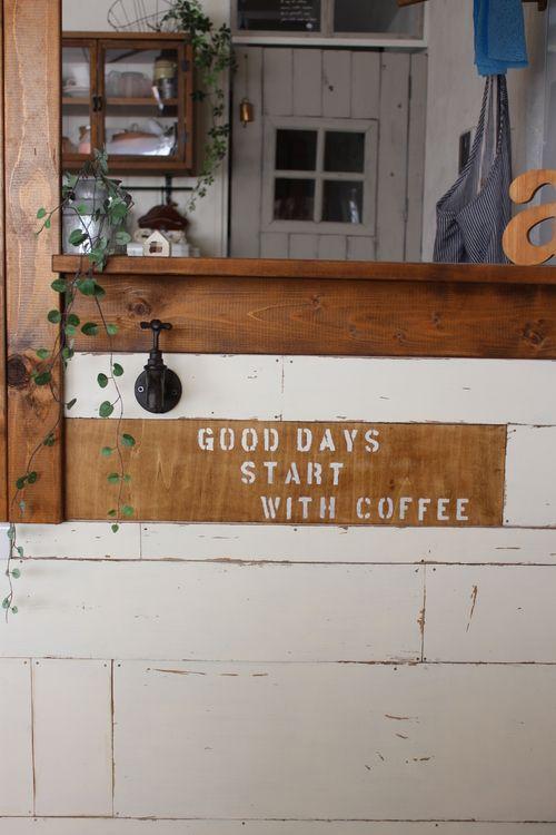カフェ風カウンターにポイントを♪ : ** 大好きに囲まれたくらし **