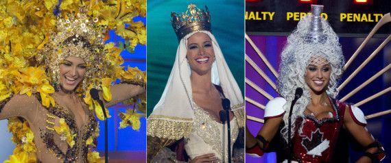 Miss Universo 2015: los locos, locos vestidos regionales de las aspirantes