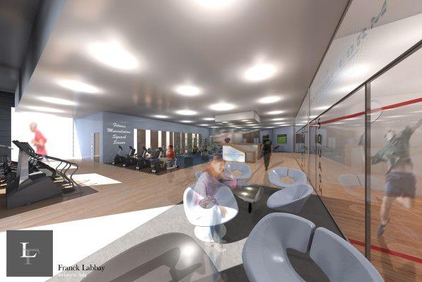 Latitude Form   Lorient   Agencement Du0027une Salle De Remise En Forme    Fitness   Squash   Sauna   Franck LABBAY Architecte Dplg