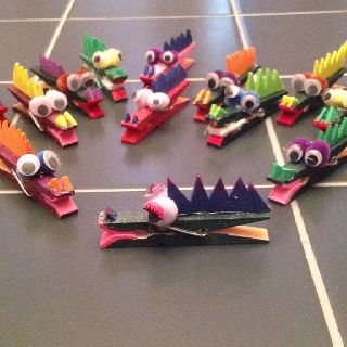 A cute little craft I made for my Sunday Kids. We are called the Alligator Class. Made with a clothespin, puffballs, foam board, google eyes, paint and a glue gun.