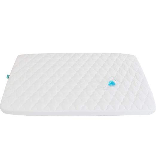 Pack N Play Waterproof Baby Crib Mattress Pad 39 X 27 Fitted Cover Protector For Mini Portable Crib Mattress Pad Pack N Play Mattress Baby Crib Mattress
