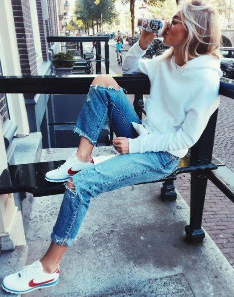 9bb23e7da2723 Şık ve Rahat Günlük Kıyafet Kombinleri Spor Giyim #moda #fashion  #streetstyle #outfits