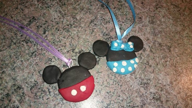 New one  Mickey and Minnie in blue