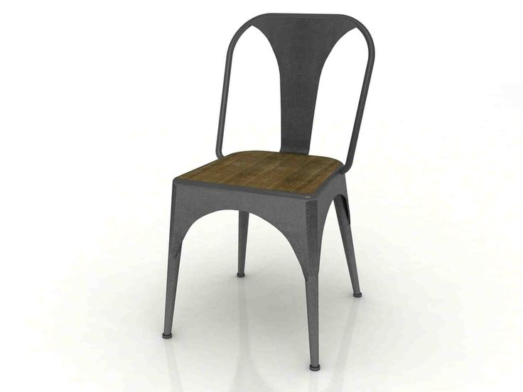 The Workshop Dining Chair - Metal Frame from LH Imports is a unique home decor item. LH Imports Site carries a variety of Workshop items.