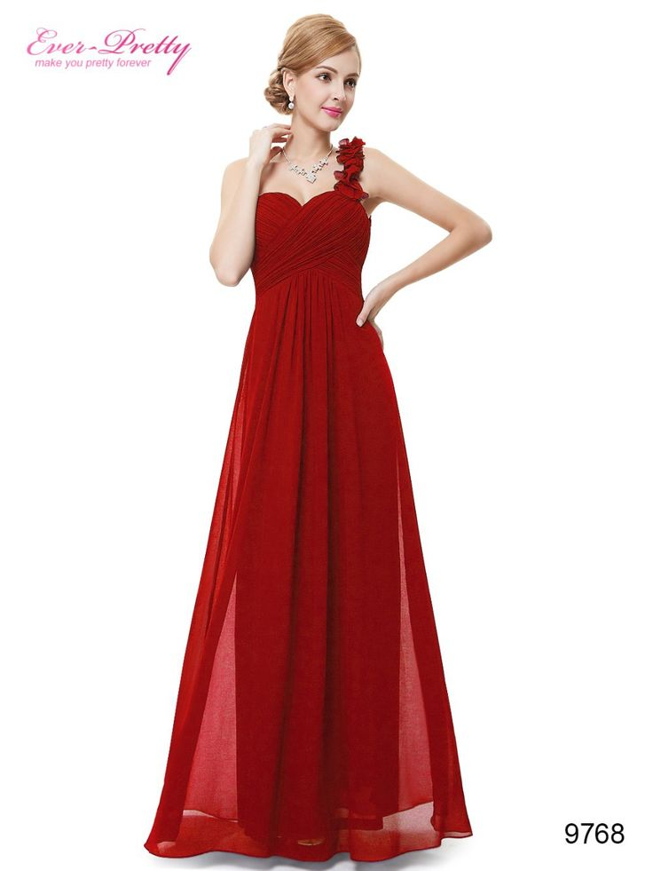 vestido madrinha longo Casamento Da Dama de Honra Vestidos Sempre Bonita 9768 Mulheres Da Moda Roxo Flor de Um Ombro Chiffon Acolchoado Da Dama de honra Vestidos de 2016 vestidos de madrinha em Vestidos de dama de honra de Casamentos & Eventos no AliExpress.com   Alibaba Group