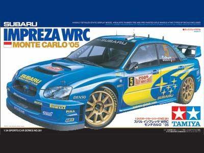 Boxart Subaru Impreza WRC 24281 Tamiya
