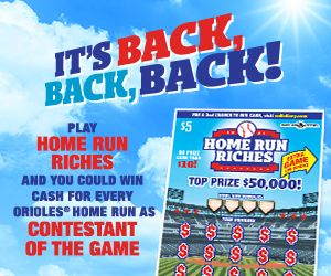 Maryland Lottery - Games – 2nd Chance Contests
