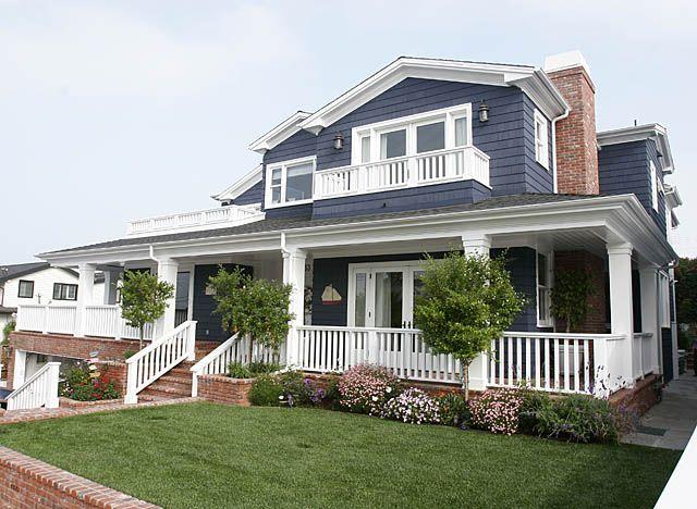 54 Best Blue Houses Images On Pinterest