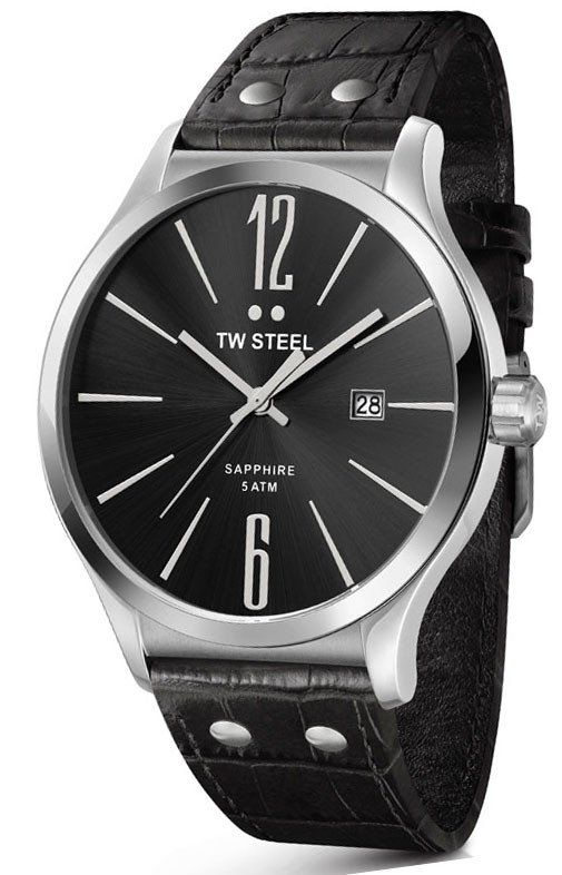 TW Steel Watch Slim Line 45mm #bezel-fixed #bracelet-strap-leather #brand-tw-steel #case-material-steel #case-width-45mm #classic #comparison #date-yes #delivery-timescale-call-us #dial-colour-black #gender-mens #movement-quartz-battery #official-stockist-for-tw-steel-watches #packaging-tw-steel-watch-packaging #subcat-slim-line #supplier-model-no-tw1300 #warranty-tw-steel-official-2-year-guarantee #water-resistant-50m