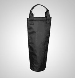 Foil insulated and padded wine carrier bag
