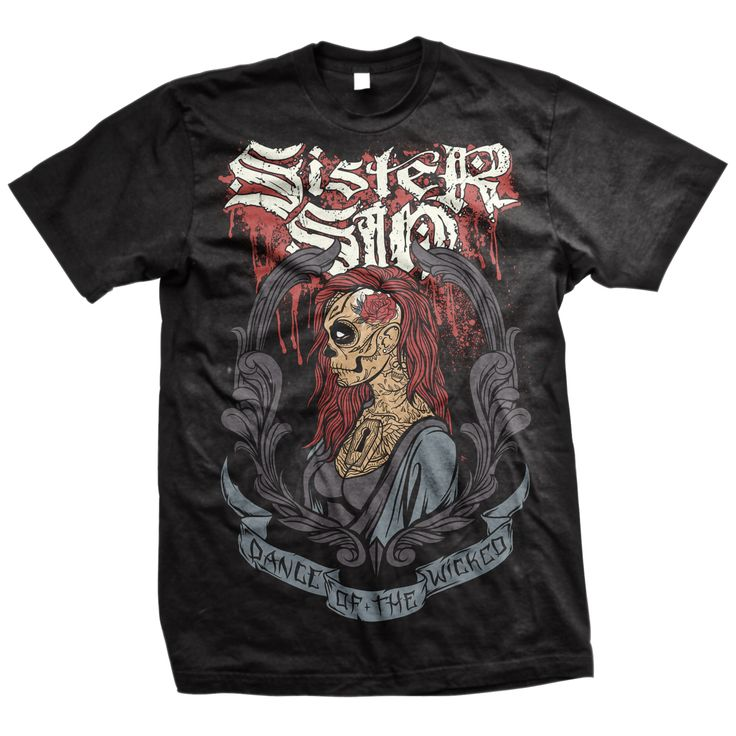 Sister Sin - Dance Of The Wicked T-Shirt - $12.98