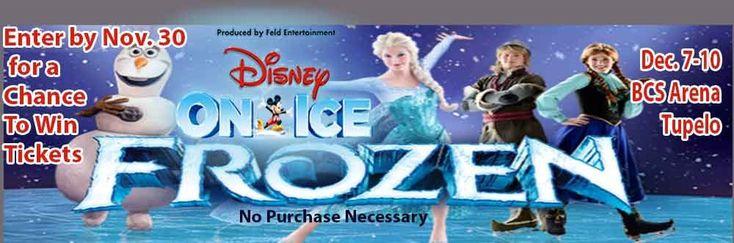 Disney on Ice Presents Frozen Ticket Giveaway on WCBI!