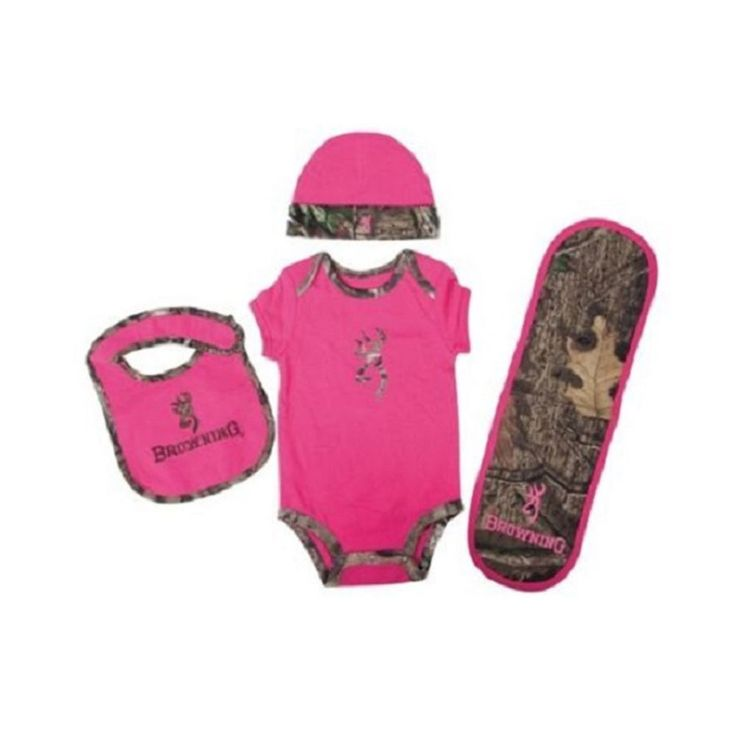Browning Baby Girl's Camo Buckmark Bodysuit Set Fuchsia NEW | Clothing, Shoes & Accessories, Baby & Toddler Clothing, Girls' Clothing (Newborn-5T) | eBay!