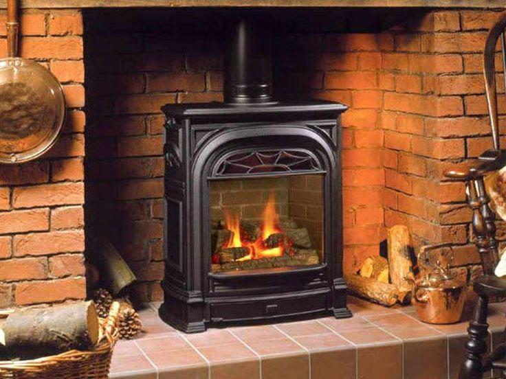 buck wood stove fireplace