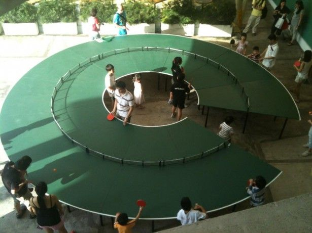 10 Cool And Unusual Table Tennis Table Designs From Around The World | Ping  Pong Table, Tennis And Interior Architecture