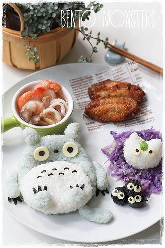 // Totoro Bed //