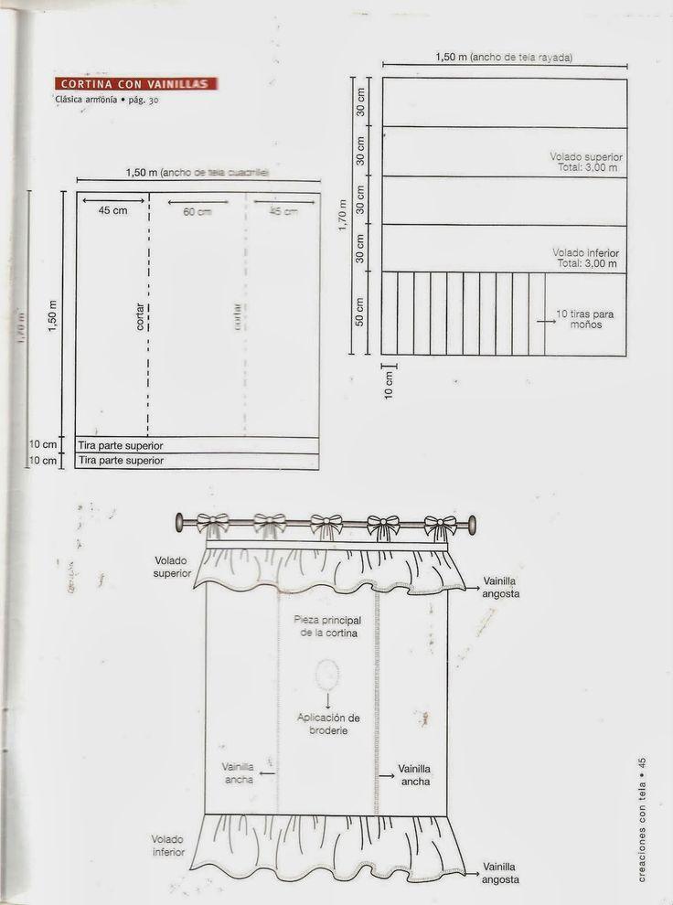 Revistas de manualidades Gratis: Como hacer cortinas