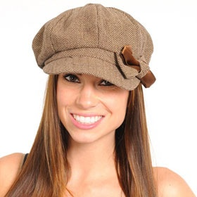 Women's Newspaper Boy Fashion Hats. I love the look of these news boys hats. I have a few patterns I cannot wait to try out.