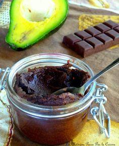 Moelleux au chocolat et avocat sans beurre  (à adapter IG bas - sucre par fructose)