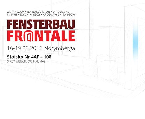 Zapraszamy na targi FENSTERBAU FRONTALE, które odbędą się między 16 a 19 marca 2016 roku. Nasze stoisko, 4AF - 108, znajdziecie przy wejściu do hali 4a.  #Sokółka #OknaDrewniane #Targi