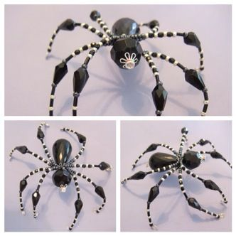 Spiders amp scorpions on pinterest beaded spiders scorpion and spider