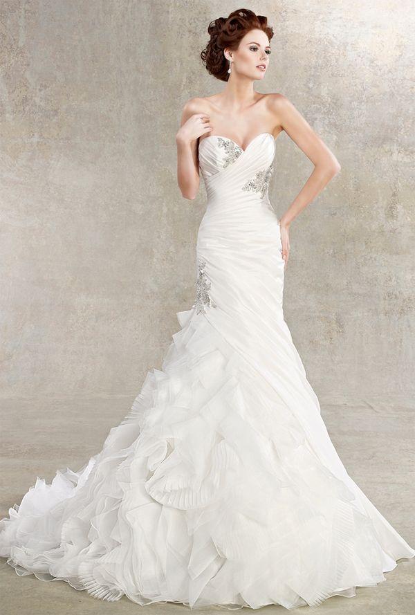 Vestidos de novia elegantes y modernos - Imagui