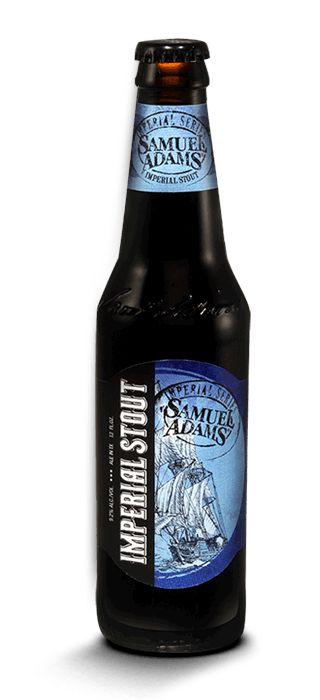 Imperial Stout by Boston Beer Company, Sam Adams (@Samuel Adams Beer) in Boston Massachusetts #CraftBeer