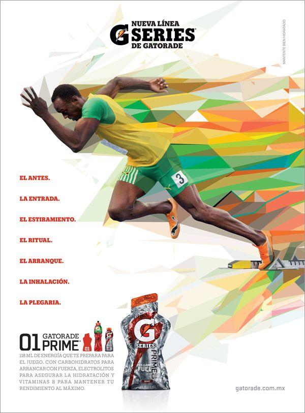 Gatorade Evoluciona & New Line 3 Series campaigns