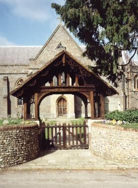 St Matthew's lych gate donated by Charlotte Yonge. Thanks to Clemence Schultze and Sandra Laythorpe.