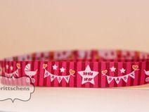 Webband -  Little Baby Star - pink - 1m