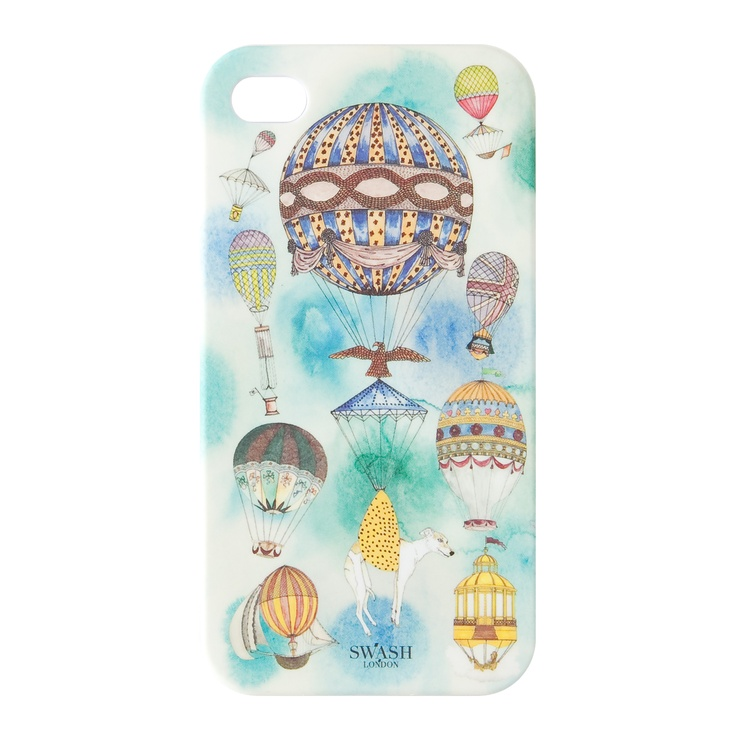 """""""BALOON""""  from kanvas products® collaborated with Designer Duo """"SWASH LONDON"""" for iPhone Cases by Fashion Designers and Creators, Summer 2012 Collection."""
