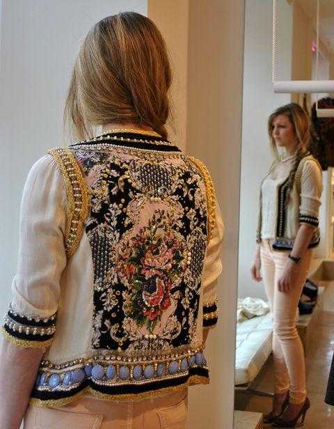 Beaded jacket...bella bella bella!!!