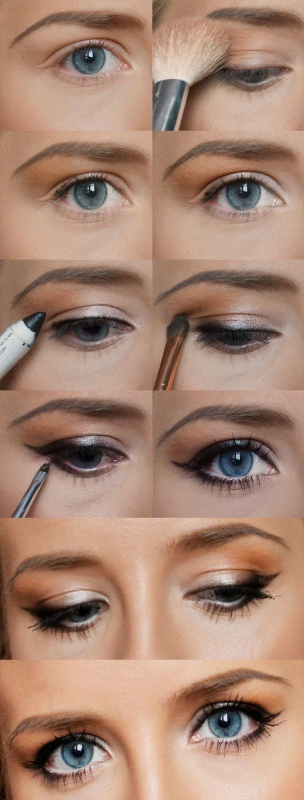 Basic Makeup Essentials For Beginners: Pinterest