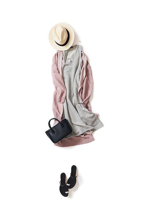 Kyoko Kikuchi's Closet #kk-closet 前と後ろのムードが違うワンピの着こなし