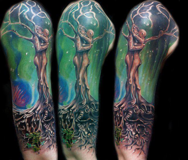 Soulmate/tree Of Life Tattoo