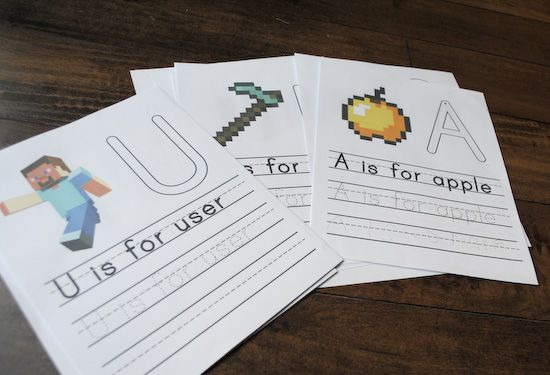 You know when you are searching and searching and you just can't find what you are looking for? Well that is where these printable minecraft worksheets came