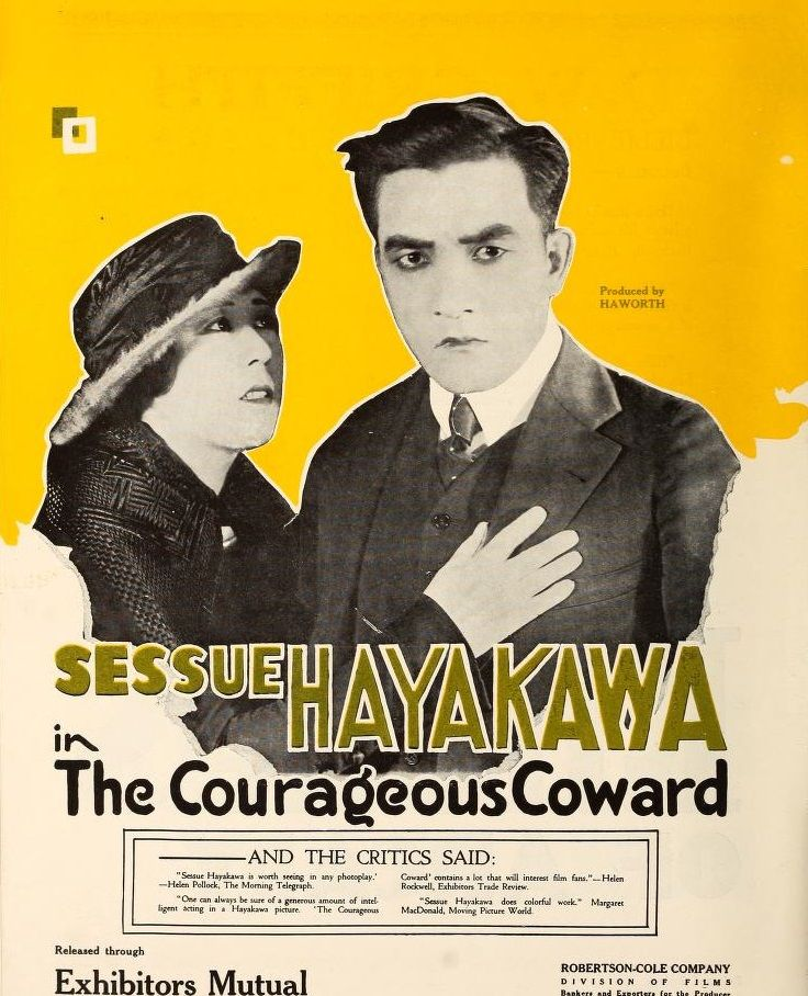 An ad for a 1919 Sessue Hayakawa feature, from Motion Picture News.