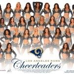 Los Angeles Rams Cheerleaders represent the US for Chinese New Year