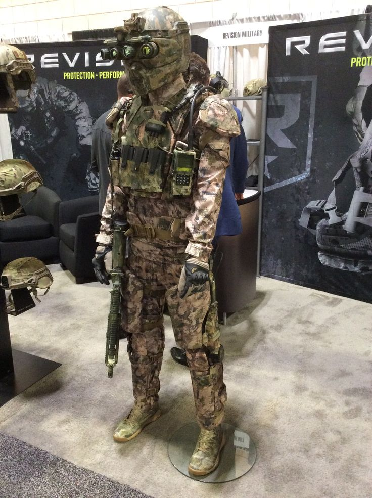 SOFIC 2015 - Revision's Kinetic Operations Suit - Soldier Systems Daily