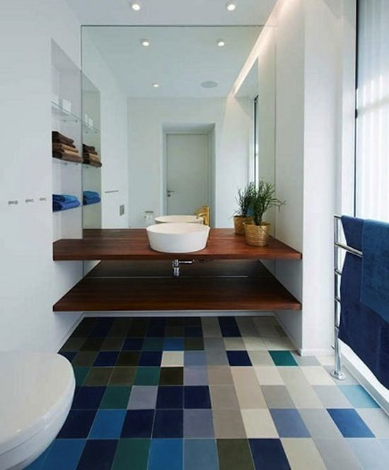 Gradient For Bathroom Floor : Best images about flooring on commercial