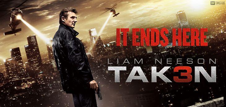 Taken 3 Movie..........January 9. 2015