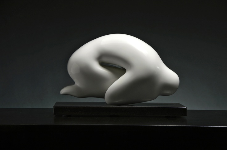 The Seed of man sculpture is the first piece in the series. It depicts a man kneeling down into a foetal position with his arms clenched around his knees. From within the sculpture there is a bright glow of light emanating from the figure's chest and he appears to be slightly elevated creating a floating feeling. The title reveals the comparison between seed and man and the association to procreation and growth.