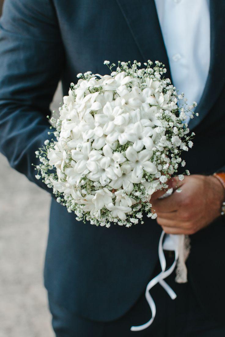 Bridal bouquet. Stefanotis!