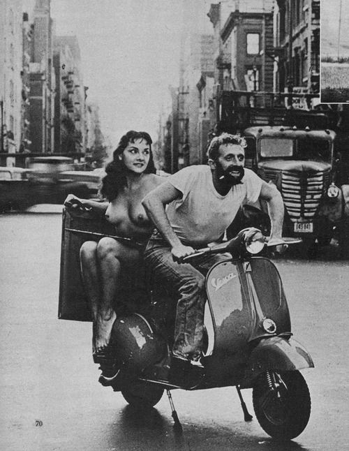 Nude on Vespa - From Jerry Yulsman Tells How to Take ...