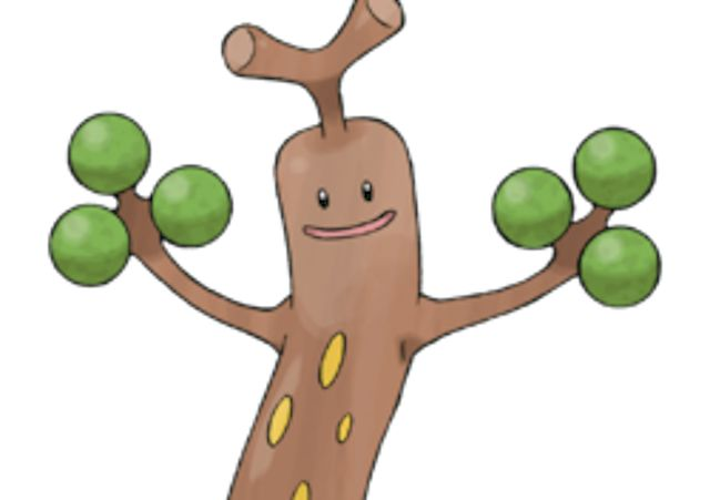 "10 Stupid Pokemon With Surprisingly Elaborate Inspirations -  Sudowoodo is based on petrified wood, or wood that has undergone the process of fossilisation and become rock. This is supported by Sudowoodo's name, which could be viewed as being a phonetic spelling of the word ""pseudo,"" which means ""false,"" and the word wood with an extra ""O"" slapped on the end for style."