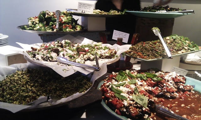 Ottolenghi Islington - Definitely a must hit in the neighbourhood.  Food is interesting and tasty and lots to share too.