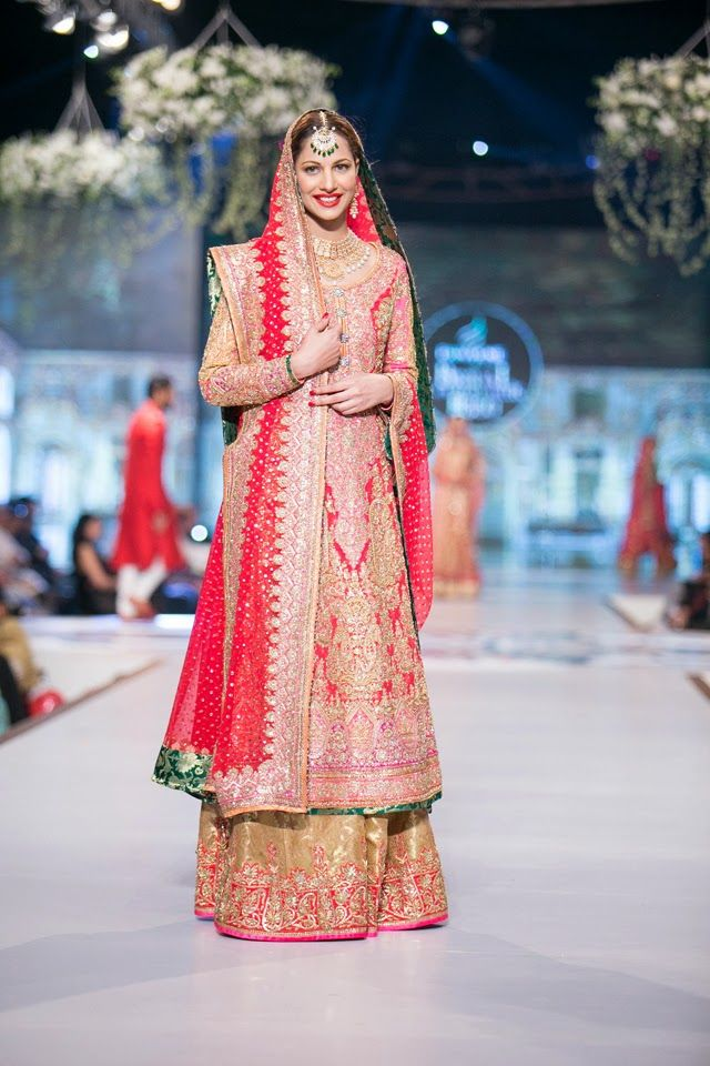Pakistani wedding outfit PBCW 2014 Nomi Ansari