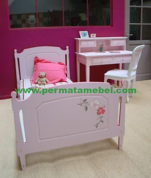 Kamar Tidur Anak Pink | Furniture | Mebel Jepara