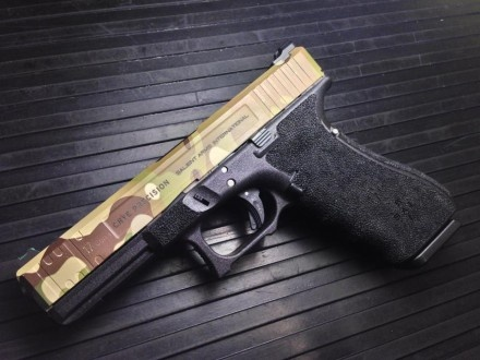 Salient Arms International Glock 17 Tier Two, Crye Precision/MultiCam Edition. This Weapon will be auctioned off at Shot Show 2013 at the Crye Precision booth. All monies will go to military charities. For more info visit the Crye Precision booth.