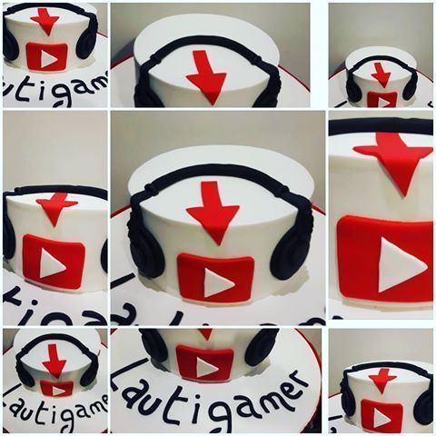 Image result for decoracion tematica de youtube para cumpleaños de niño #decoraciontematica